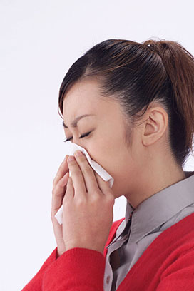 夏・秋にもある花粉症