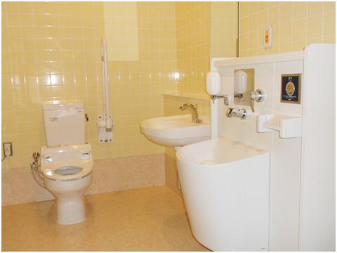 オストメイト用トイレのご案内